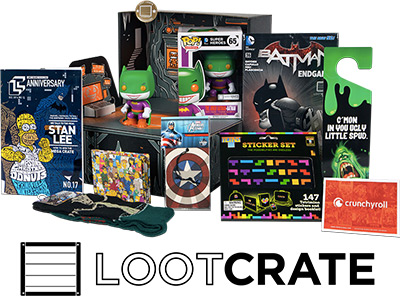 Sign up for an awesome Lootcrate!